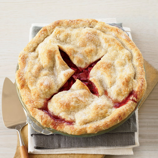 <p>Deep Dish Strawberry-Rhubarb Pie</p>