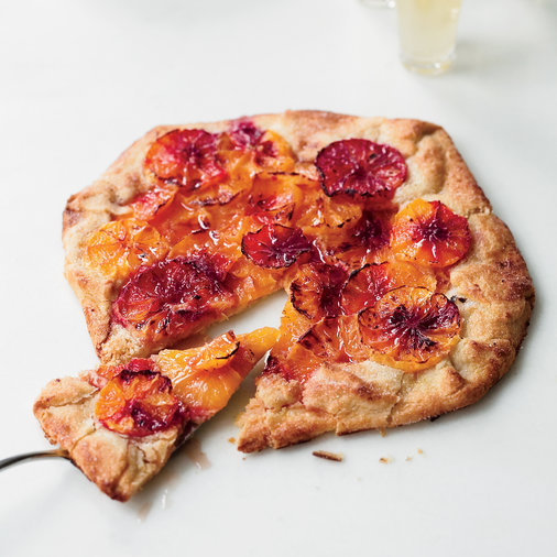 Feb. 7: Flaky Blood Orange Tart
