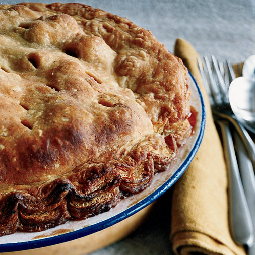 <p>Puff Pastry Apple Pie</p>
