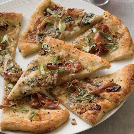Fig-and-Prosciutto Flatbreads
