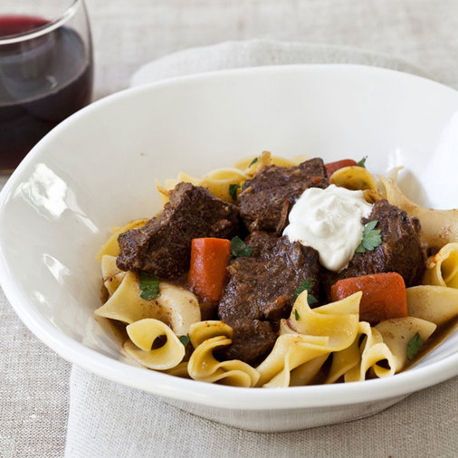 <p>March 5: Slow Cooker Beef Goulash</p>