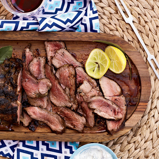 <p>Greek-Style Leg of Lamb</p>