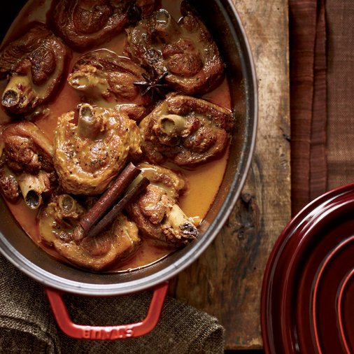 Massaman-Curry Turkey Osso Buco