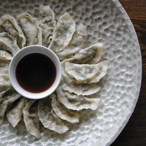 Day 11:Cabbage, Watercress and Pine Nut Dumplings