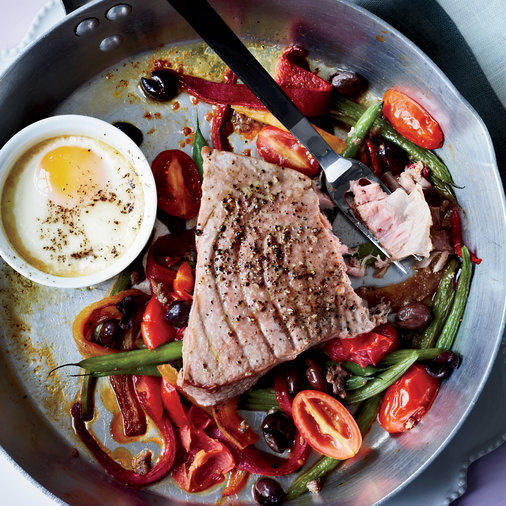 Hot Niçoise Salad