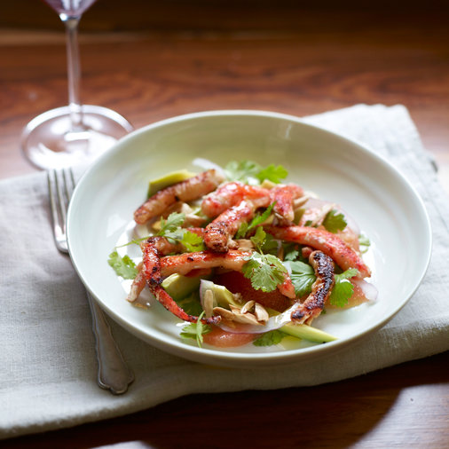 King Crab Salad with Grapefruit and Avocado