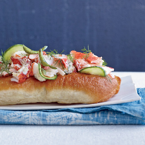 Curry Lobster Rolls