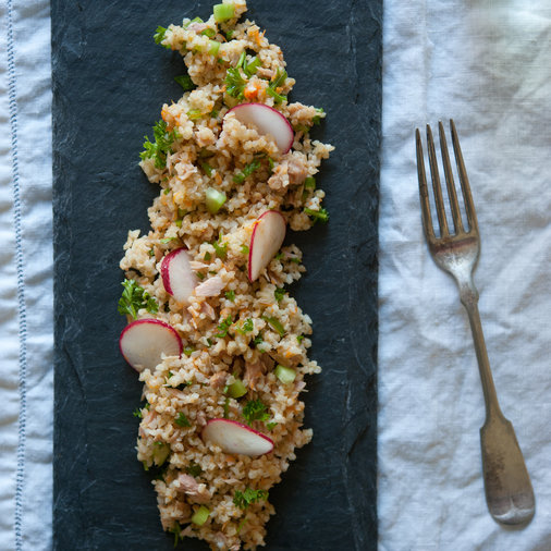 Tabbouleh with Tuna