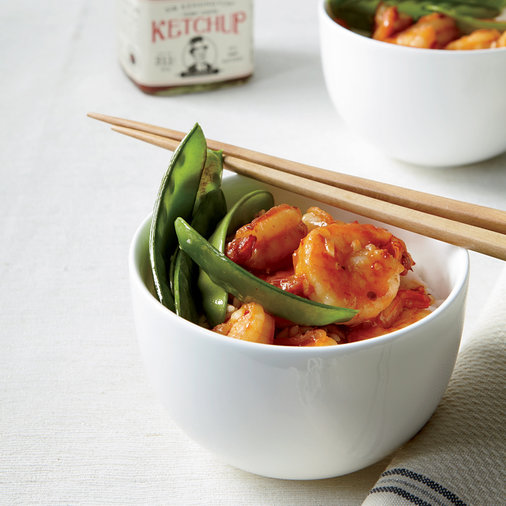 Sweet-and-Sour Shrimp