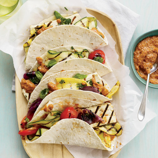 Tofu-and-Vegetable Tacos