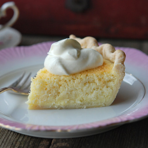 <p>Coconut Custard Pie</p>