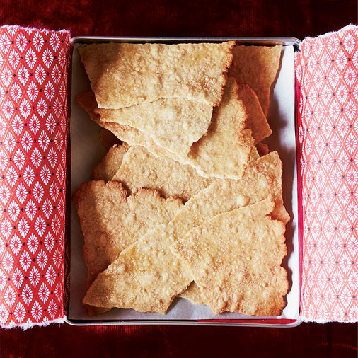 Crispy Whole Wheat-Maple Crackers