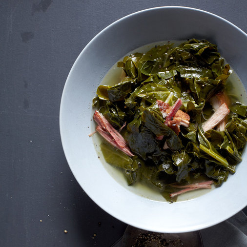 Smoky Collard Greens