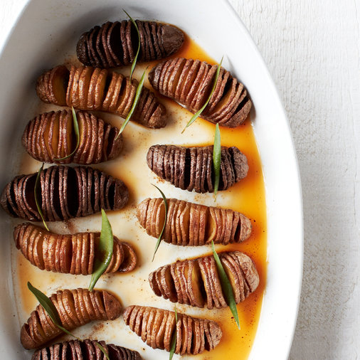 Accordion Potatoes
