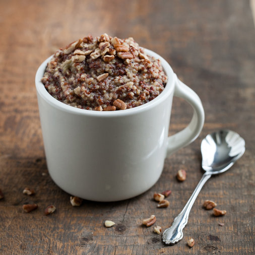Date-Sweetened Quinoa Porridge