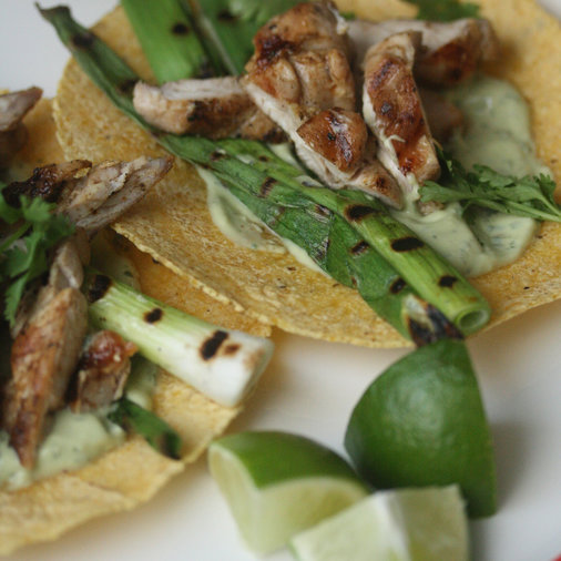 Lime-Marinated Chicken Tacos