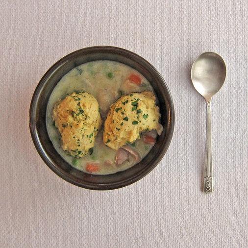 Chicken with Herb Dumplings