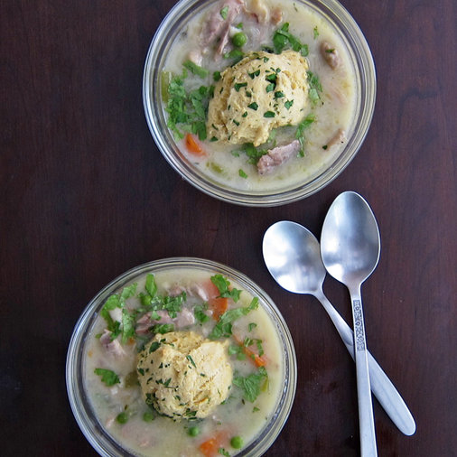 Coconut Chicken with Herb Dumplings