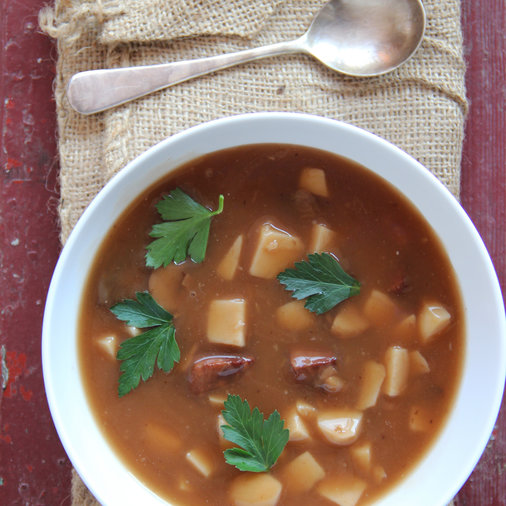 <p>Imperial Stout Beef Stew</p>