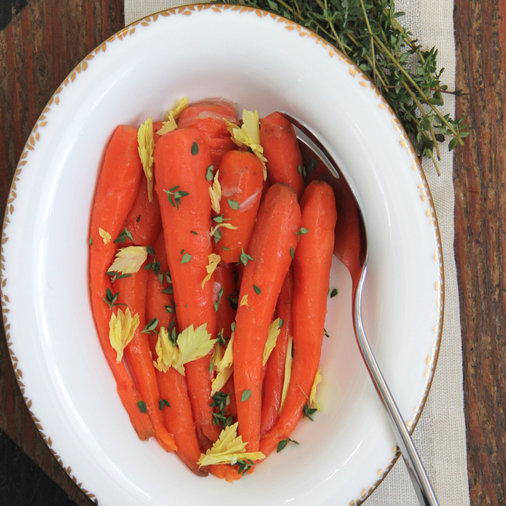 <p>Irish Buttered Carrots</p>