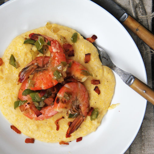 <p>March 31: Shrimp and Cheese Grits</p>