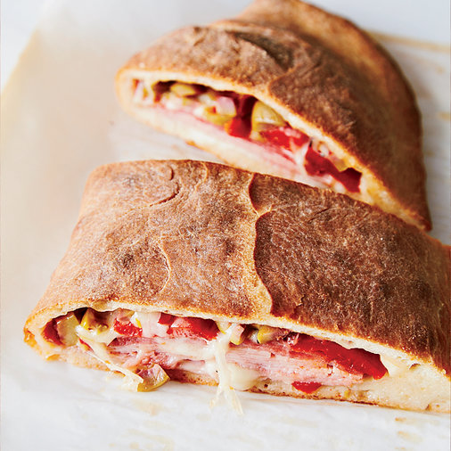 March 8: Muffuletta Calzone