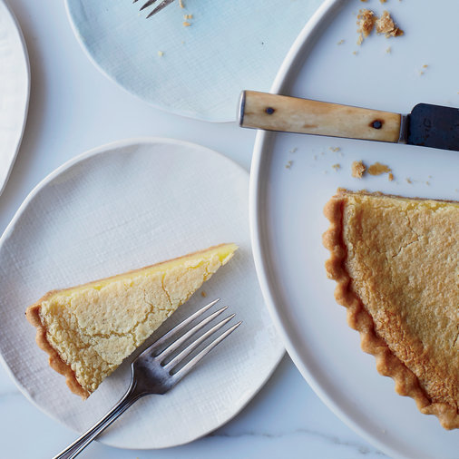 <p>Lazy Mary's Lemon Tart</p>