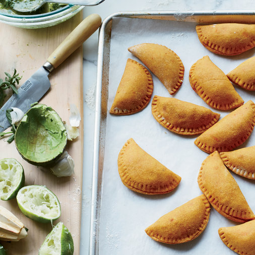 Baked Sweet Potato and Tempeh Empanadas