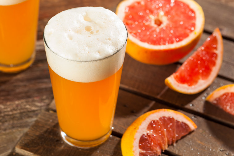 Grapefruit beer is a thing