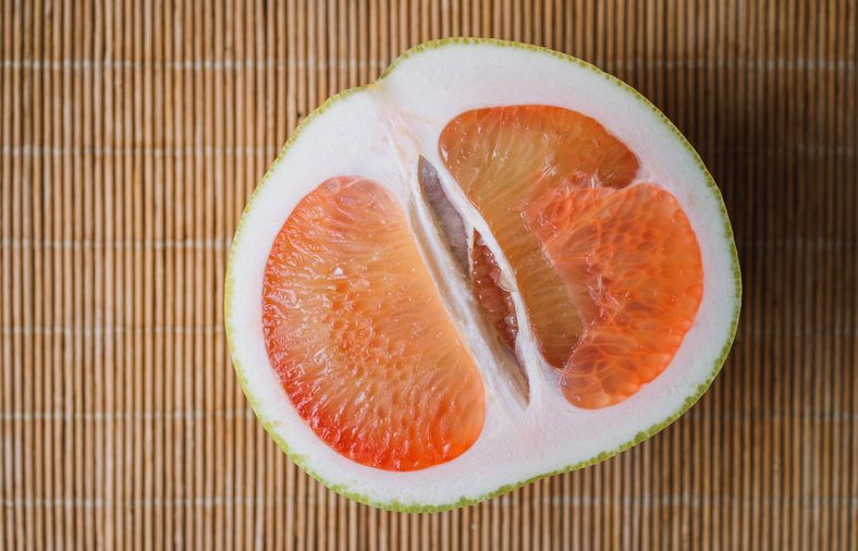 Grapefruit pith is good for you