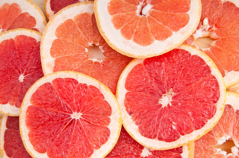 The color of the grapefruit matters