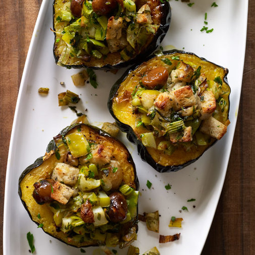 A Food And Recipe Blog Post Thanksgiving: 7 Recipes For Sweet, Creamy Acorn Squash