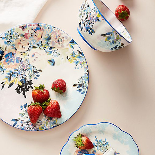 Antique Floral China