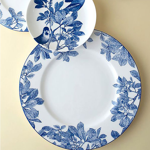 Blue and White Porcelain Tableware