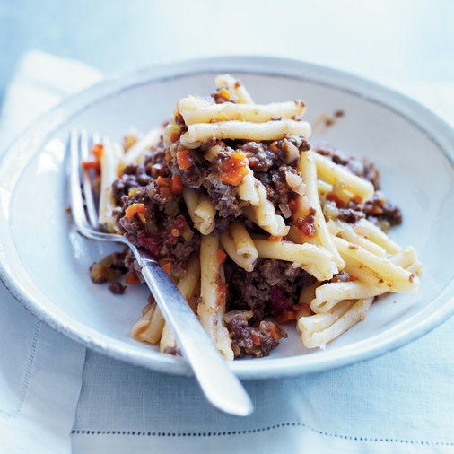 Cavatelli with Venison Bolognese