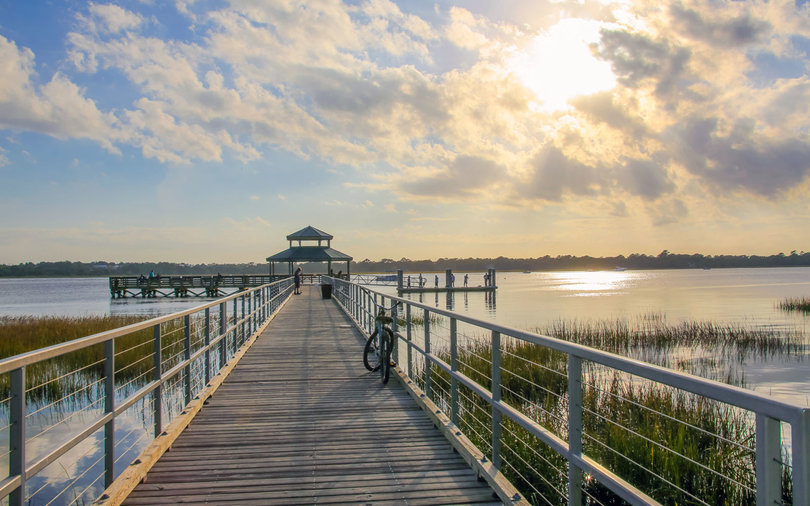 Brittlebank Park Pier, Charleston, South Carolina
