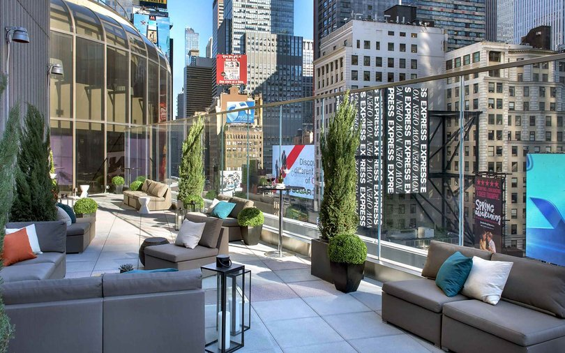 Marriott Marquis Broadway Lounge New York