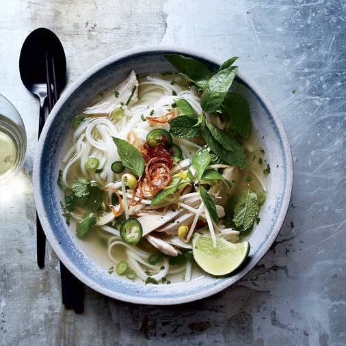 Jan. 1: Chicken Pho
