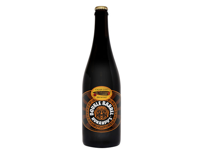 Double Barrel Hunahpu's by Cigar City Brewing