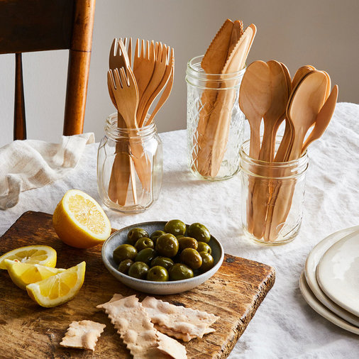 Compostable Wooden Cutlery