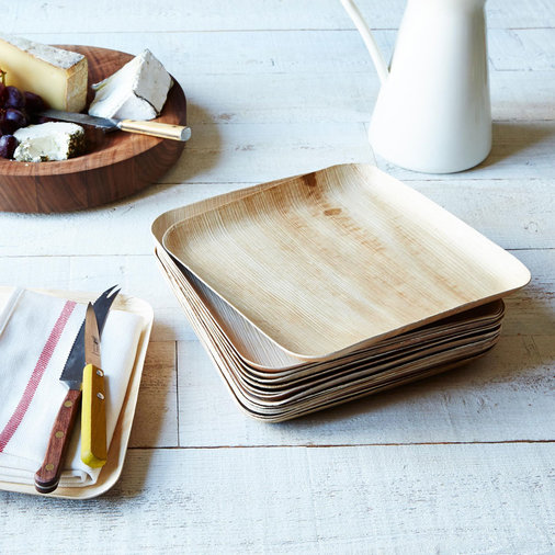 Compostable Wooden Plates