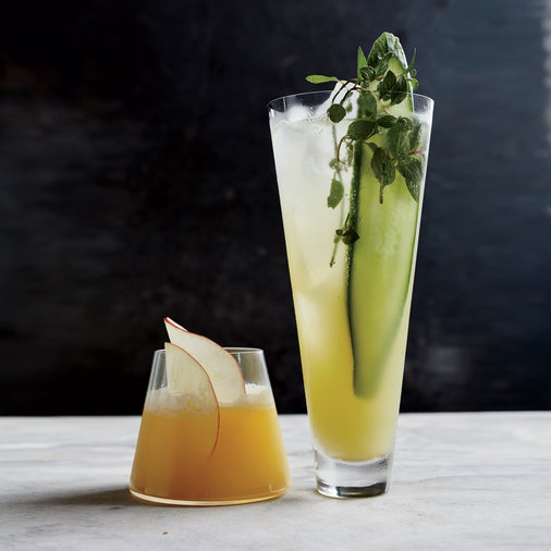 Cucumber-and-Mint Fauxjito
