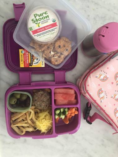 School Lunch Inspiration, Courtesy of the People Parents Squad