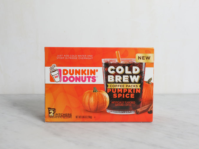 Dunkin' Cold Brew Pods