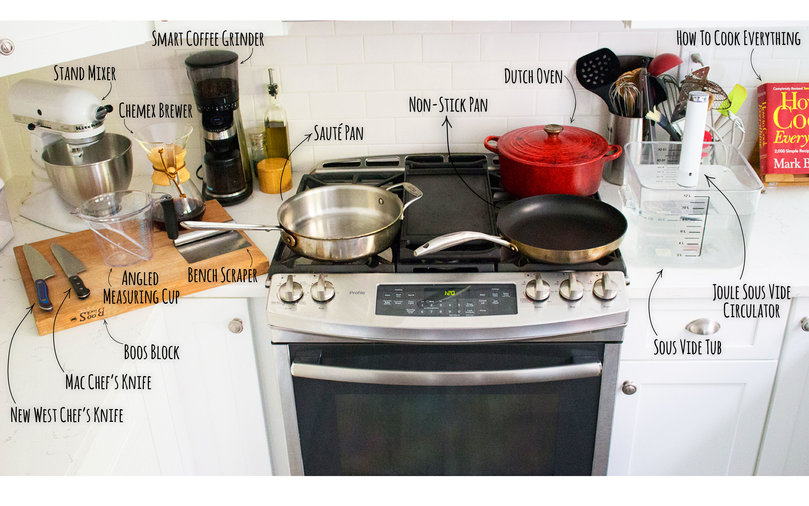 food and wine editor kitchen gear