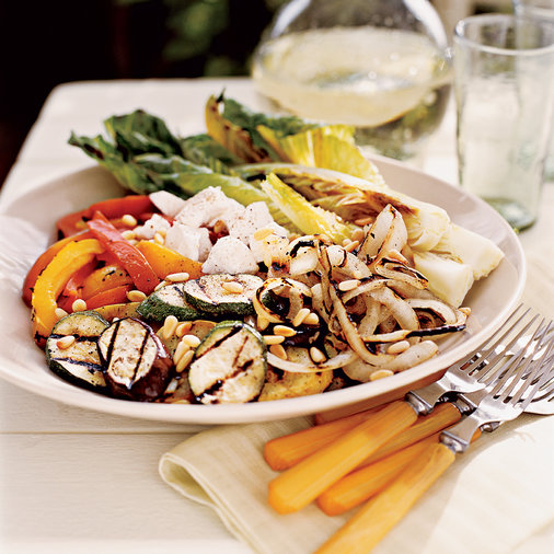 Adler & Fertig's Knife and Fork Grilled Vegetable Salad