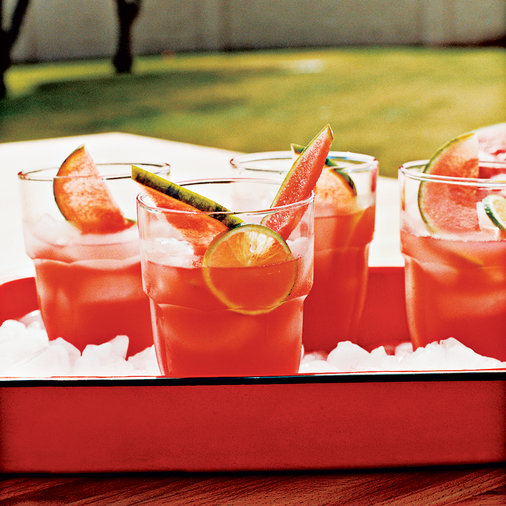 Watermelon and Ginger Limeade