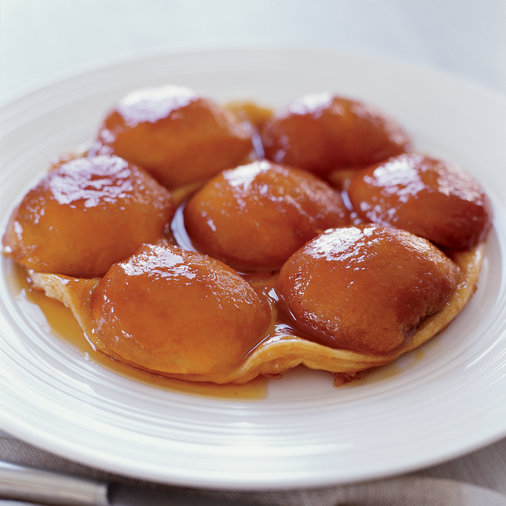 Caramelized Peach Tatin