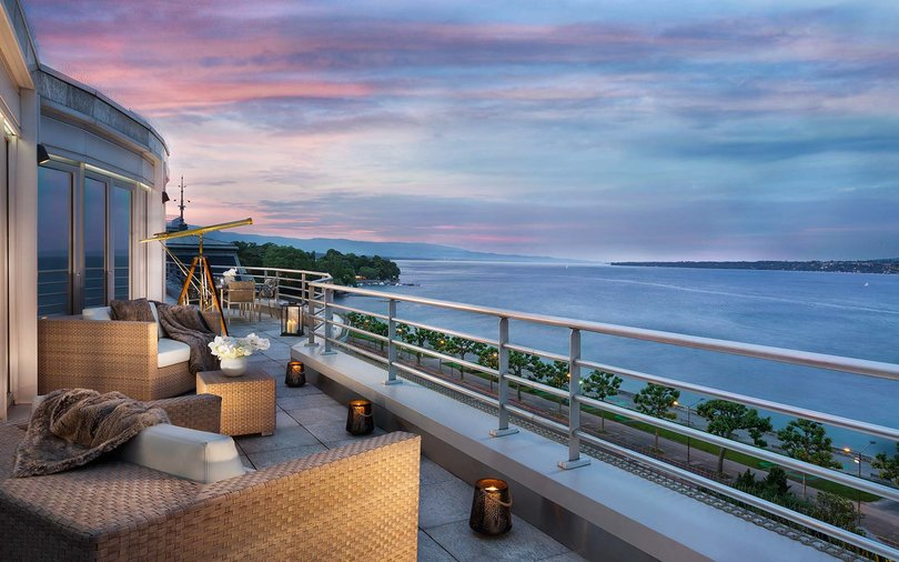Hotel President Wilson; A Luxury Collection Hotel Geneva Royal Penthouse Suite