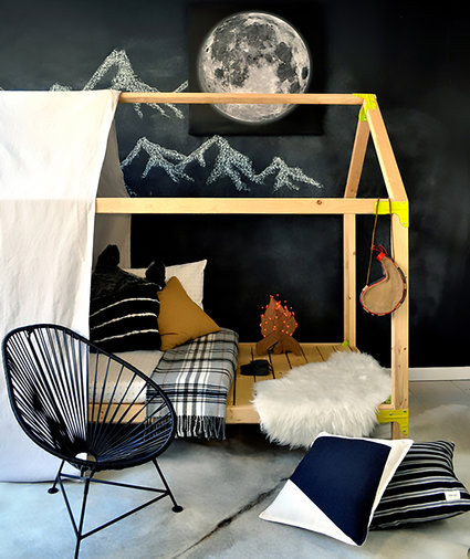 House Bed Playhouse, Rayan of The Design Confidential